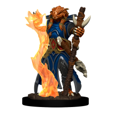 D&D Icons: Dragonborn Sorcerer Female Premium Miniature