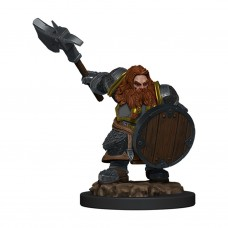 D&D Icons: Dwarf Fighter Male Premium Figure
