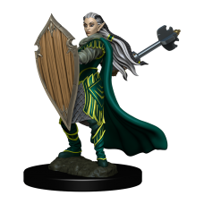 D&D Icons: Elf Paladin Female Premium Miniature