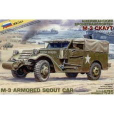 M-3 Armored Scout Car With Canvas 1/35